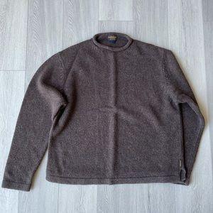 Vintage Woolrich Bison Sweater Ramie Wool Knit XL